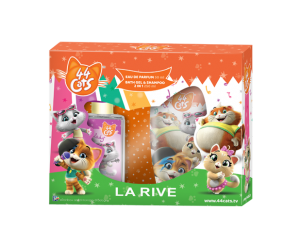 LA RIVE 44 CATS GIFT SET (EDP+BGS)